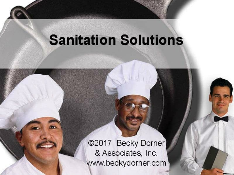 Sanitation Solutions Inservice
