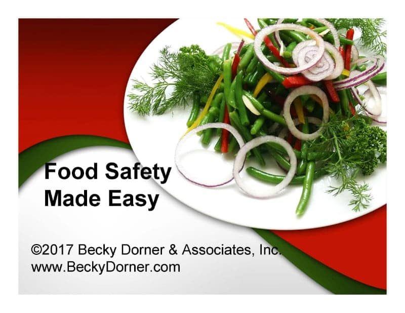 Food Safety Made Easy Inservice