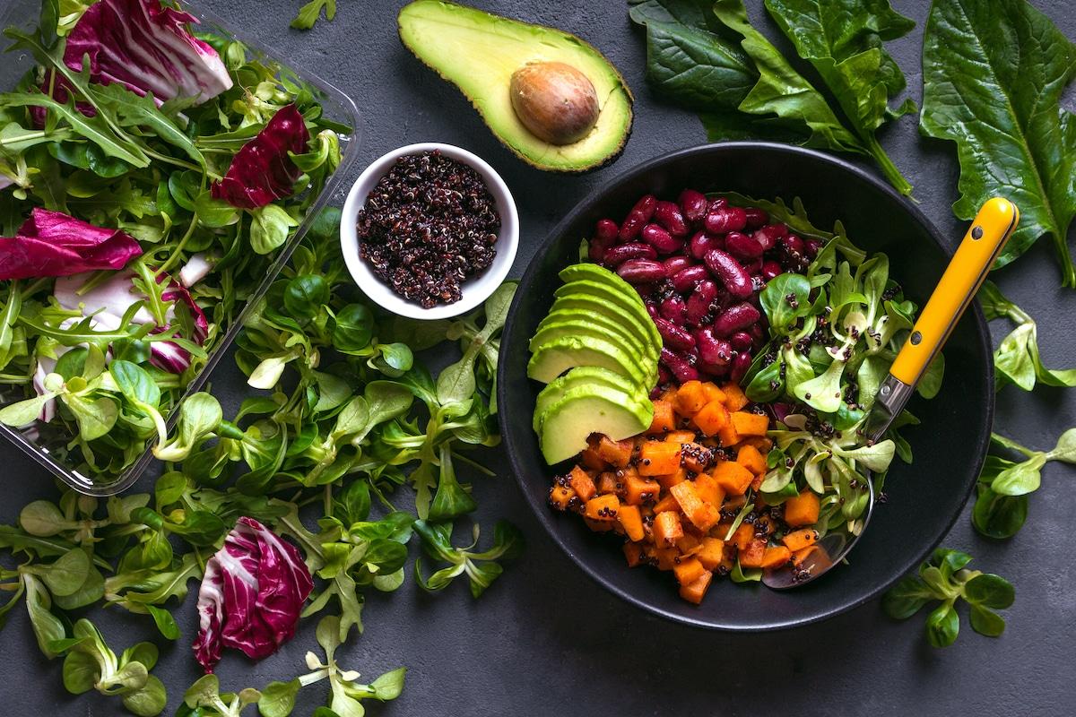 Bowl of Vegetables - National Vegetarian Month