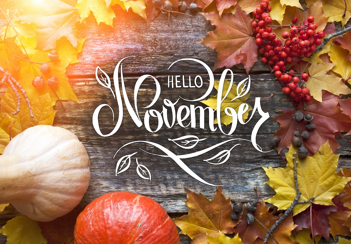 Hello November - Becky's Note